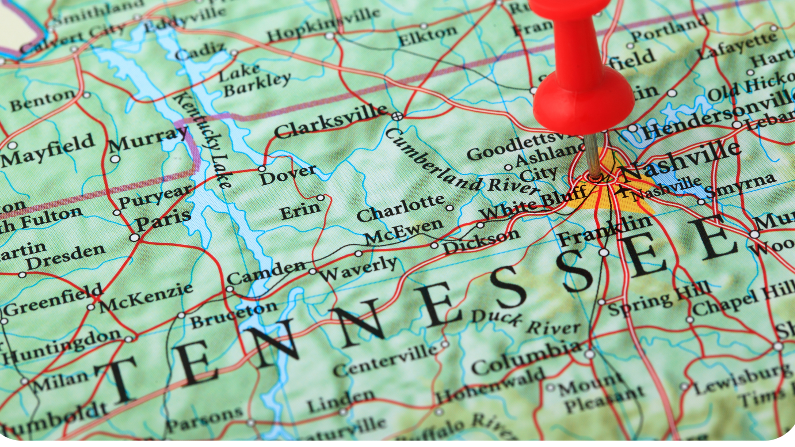map - Think Tennessee